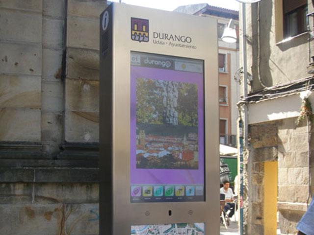 Red de kioskos instalados en Durango